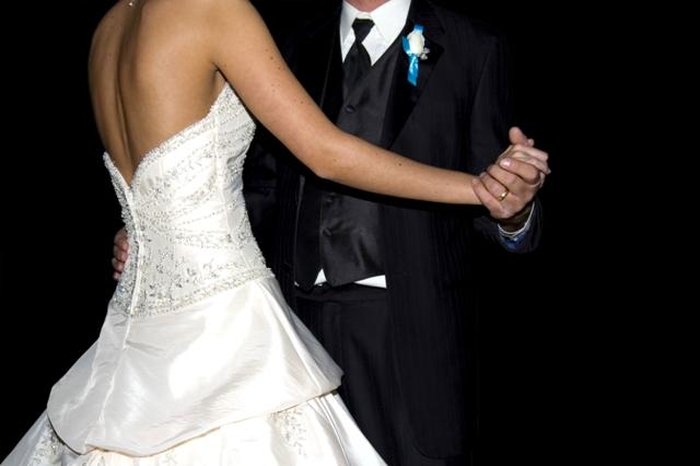 Beispiel für ein Hochzeitskleid
